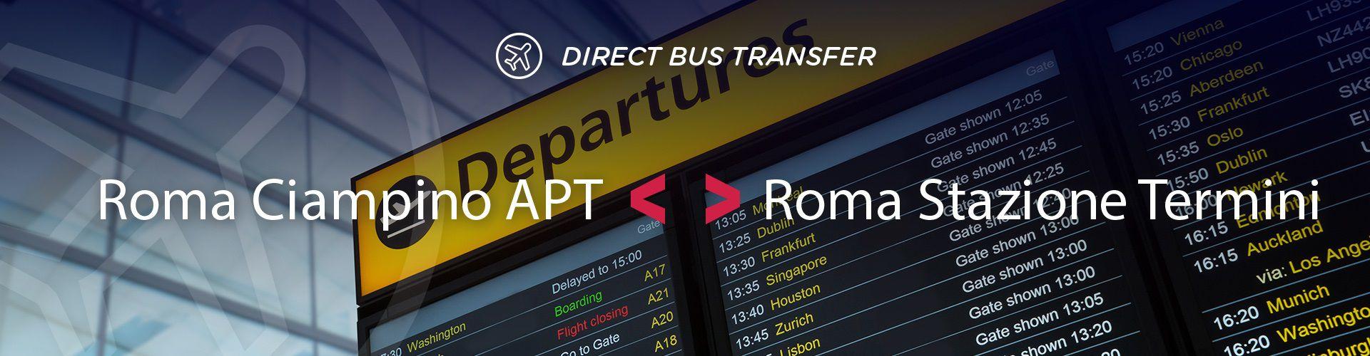 Bus From Roma To Roma Ciampino Apt Roma Stazione Termini